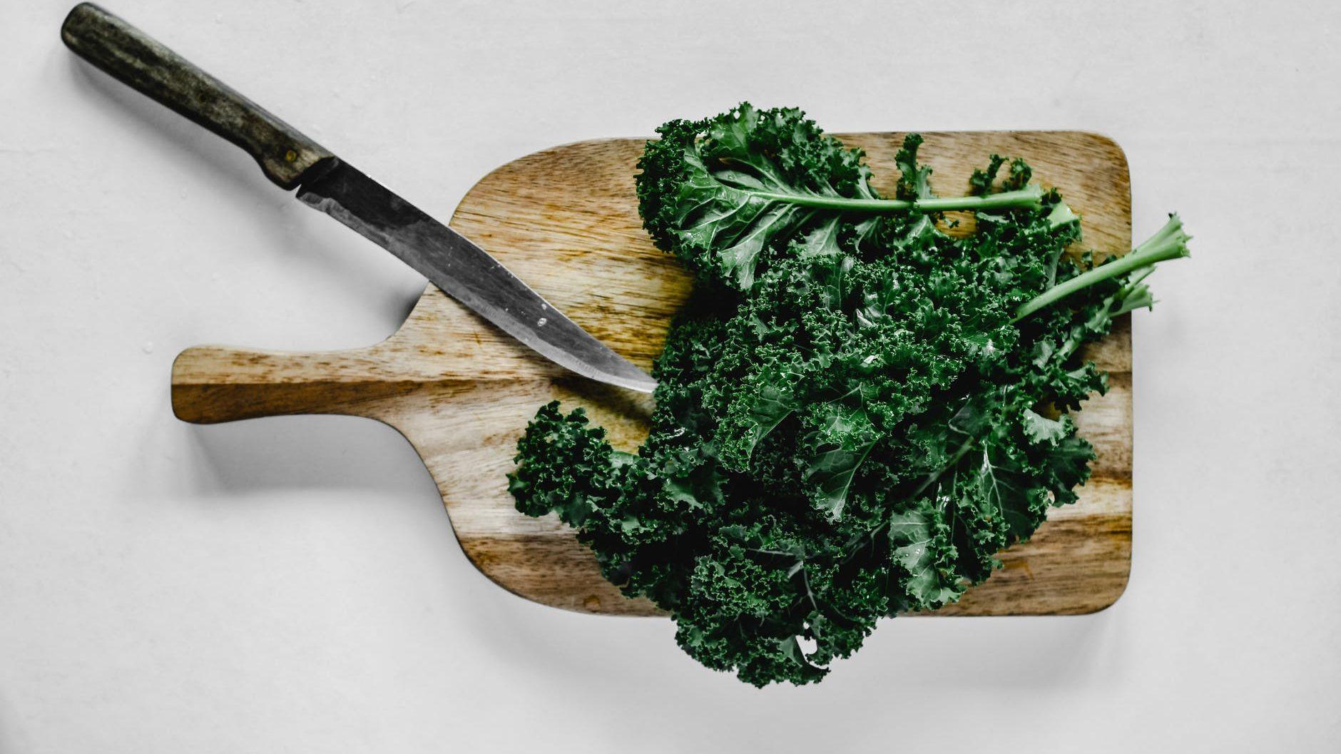 food healthy wood leaf kale